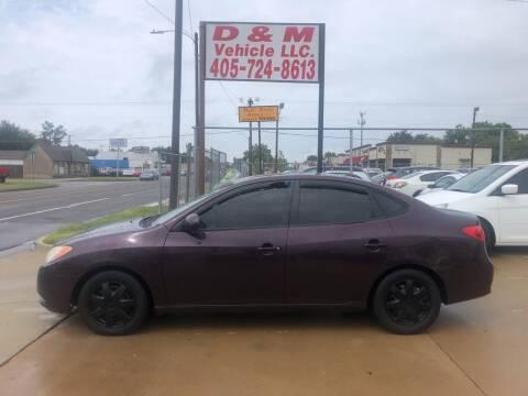 2008 Hyundai Elantra for sale at D & M Vehicle LLC in Oklahoma City OK