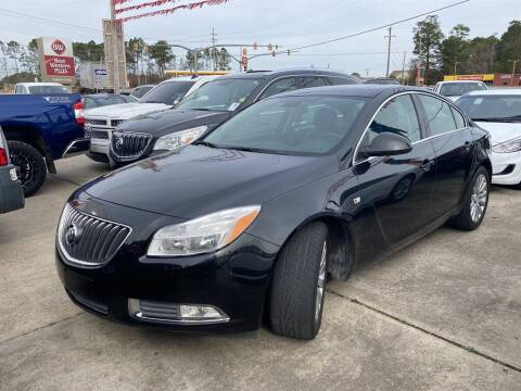 2011 Buick Regal for sale at Direct Auto in D'Iberville MS