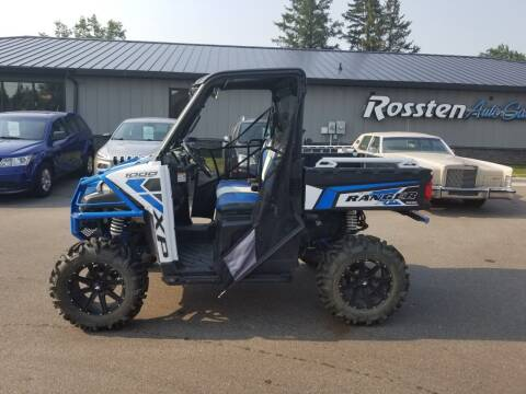 2017 Polaris Ranger for sale at ROSSTEN AUTO SALES in Grand Forks ND