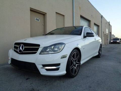 2013 Mercedes-Benz C-Class for sale at Selective Motor Cars in Miami FL