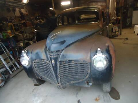 1941 Chrysler Newport for sale at Marshall Motors Classics in Jackson MI