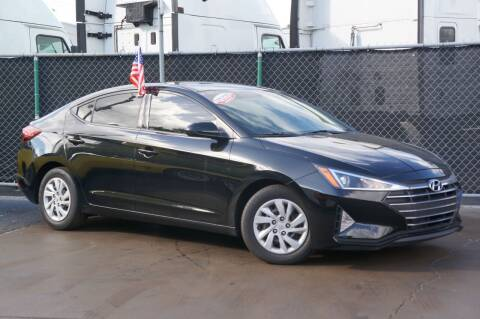 2019 Hyundai Elantra for sale at MATRIX AUTO SALES INC in Miami FL