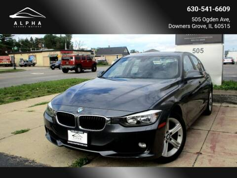 2014 BMW 3 Series for sale at Alpha Luxury Motors in Downers Grove IL