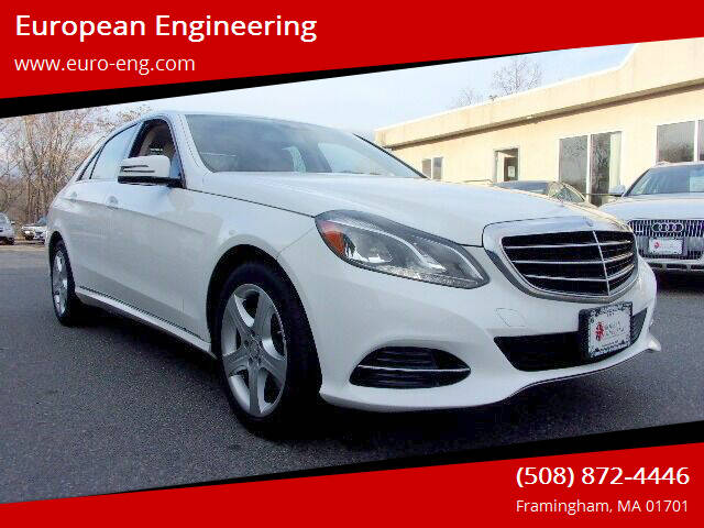 2014 Mercedes-Benz E-Class for sale at European Engineering in Framingham MA