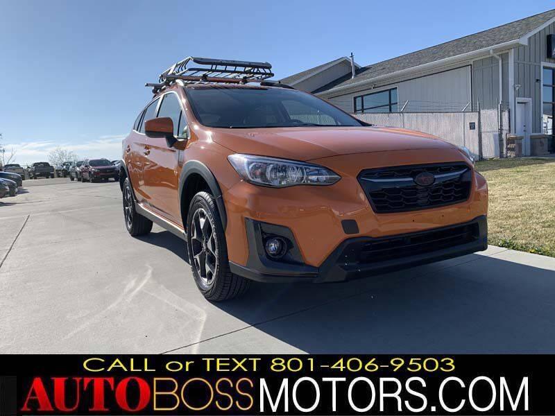 2019 Subaru Crosstrek for sale at Auto Boss in Woodscross UT