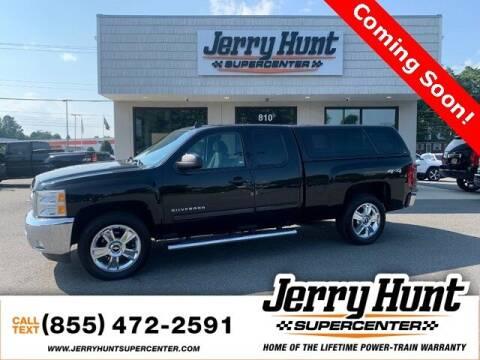 2012 Chevrolet Silverado 1500 for sale at Jerry Hunt Supercenter in Lexington NC