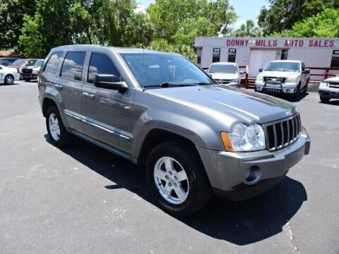 2007 Jeep Grand Cherokee for sale at DONNY MILLS AUTO SALES in Largo FL