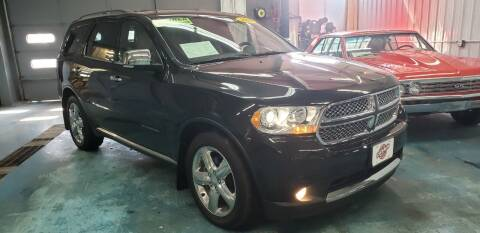 2012 Dodge Durango for sale at Stach Auto in Janesville WI