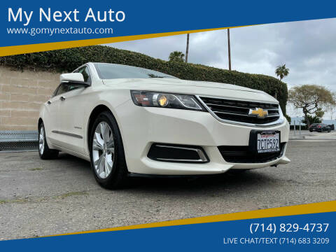 2014 Chevrolet Impala for sale at My Next Auto in Anaheim CA
