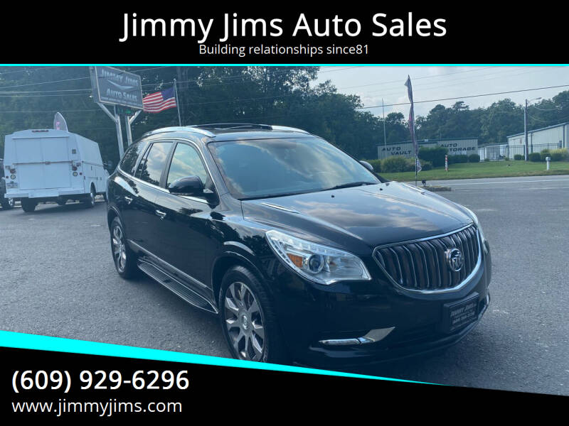 2016 Buick Enclave for sale at Jimmy Jims Auto Sales in Tabernacle NJ