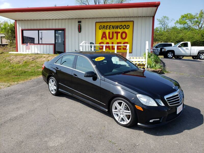 2011 Mercedes-Benz E-Class for sale at Greenwood Auto Sales in Greenwood AR