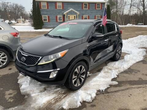 2011 Kia Sportage for sale at Winner's Circle Auto Sales in Tilton NH