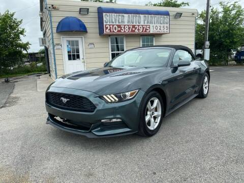 2016 Ford Mustang for sale at Silver Auto Partners in San Antonio TX