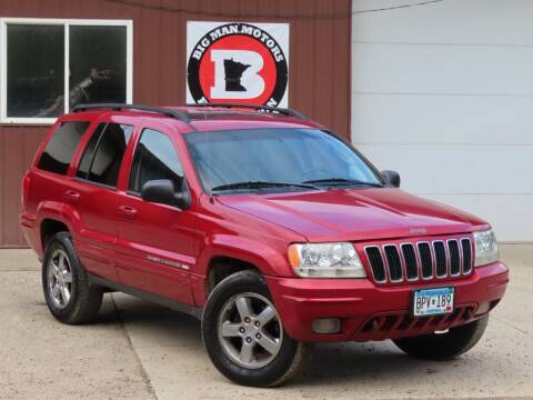 2002 Jeep Grand Cherokee for sale at Big Man Motors in Farmington MN