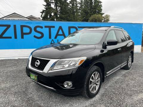 2013 Nissan Pathfinder for sale at Zipstar Auto Sales in Lynnwood WA