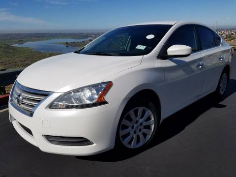 2013 Nissan Sentra for sale at Trini-D Auto Sales Center in San Diego CA