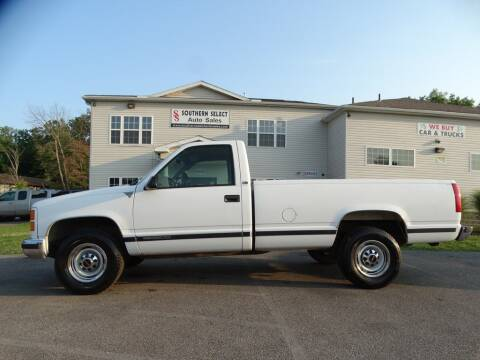 2000 GMC C/K 3500 Series for sale at SOUTHERN SELECT AUTO SALES in Medina OH