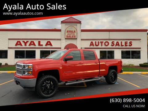2015 Chevrolet Silverado 1500 for sale at Ayala Auto Sales in Aurora IL