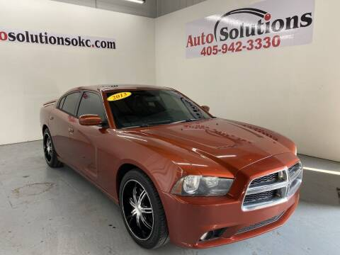 2013 Dodge Charger for sale at Auto Solutions in Warr Acres OK