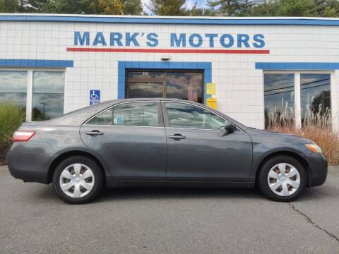 2007 Toyota Camry for sale at Mark's Motors in Northampton MA