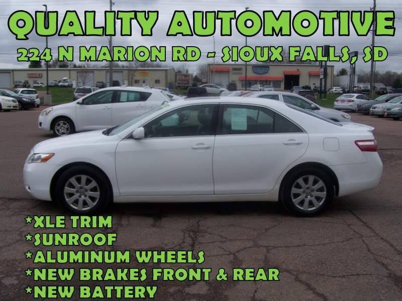 2007 Toyota Camry for sale at Quality Automotive in Sioux Falls SD