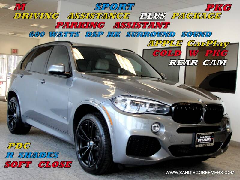 2017 BMW X5 for sale at SAN DIEGO BEEMERS in San Diego CA