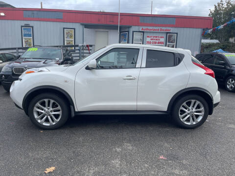 2013 Nissan JUKE for sale at Valley Sports Cars in Des Moines WA