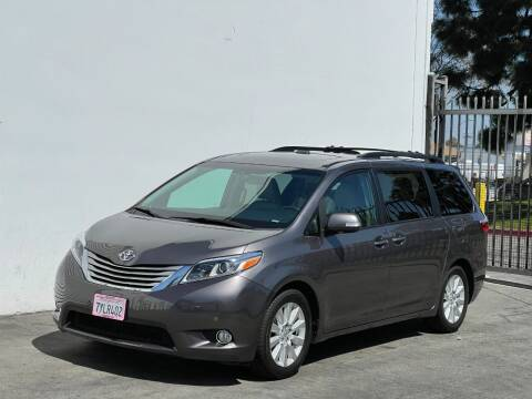 2017 Toyota Sienna for sale at Corsa Exotics Inc in Montebello CA