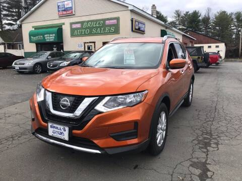2017 Nissan Rogue for sale at Brill's Auto Sales in Westfield MA