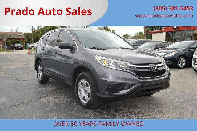 2016 Honda CR-V for sale at Prado Auto Sales in Miami FL