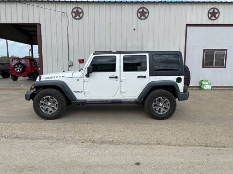 2014 Jeep Wrangler Unlimited for sale at Circle T Motors INC in Gonzales TX