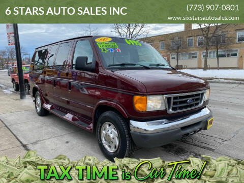 2007 Ford E-Series Chassis for sale at 6 STARS AUTO SALES INC in Chicago IL