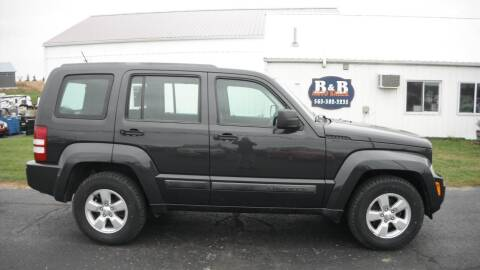 2011 Jeep Liberty for sale at B & B Sales 1 in Decorah IA