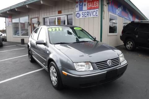 2004 Volkswagen Jetta for sale at 777 Auto Sales and Service in Tacoma WA