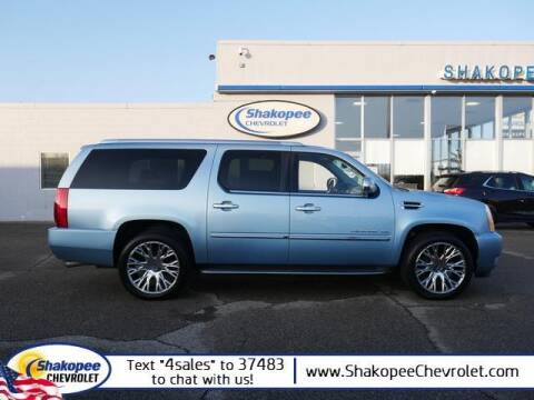 2011 Cadillac Escalade ESV for sale at SHAKOPEE CHEVROLET in Shakopee MN