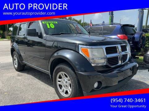 2010 Dodge Nitro for sale at AUTO PROVIDER in Fort Lauderdale FL