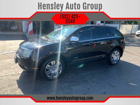 2008 Lincoln MKX for sale at Hensley Auto Group in Middletown OH