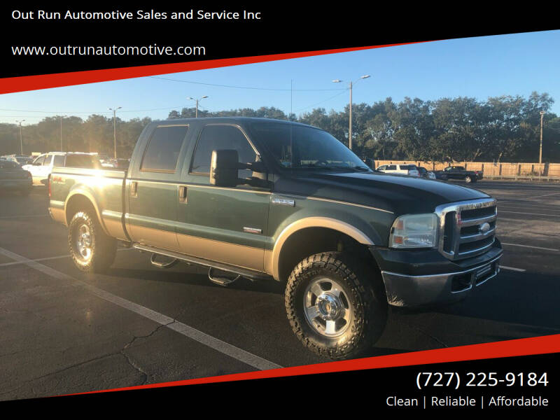 2006 Ford F-250 Super Duty for sale at Out Run Automotive Sales and Service Inc in Tampa FL