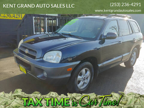 2005 Hyundai Santa Fe for sale at KENT GRAND AUTO SALES LLC in Kent WA