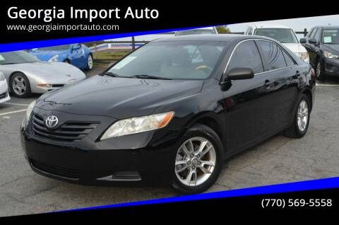 2008 Toyota Camry for sale at Georgia Import Auto in Alpharetta GA