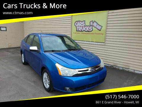2011 Ford Focus for sale at Cars Trucks & More in Howell MI