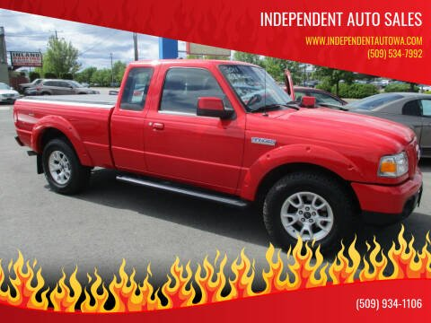 2011 Ford Ranger for sale at Independent Auto Sales in Spokane Valley WA