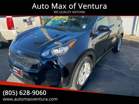 2017 Kia Sportage for sale at Auto Max of Ventura in Ventura CA