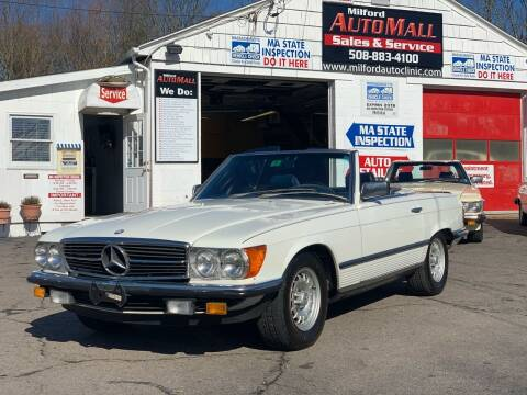 1985 Mercedes-Benz SL-Class for sale at Milford Automall Sales and Service in Bellingham MA