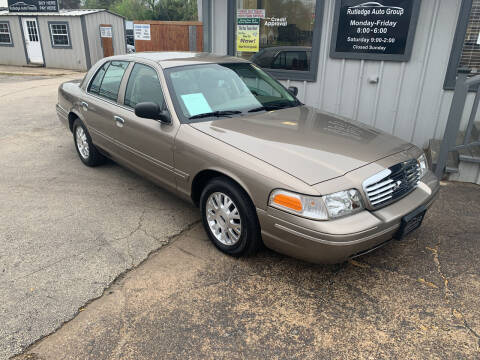 2004 Ford Crown Victoria for sale at Rutledge Auto Group in Palestine TX
