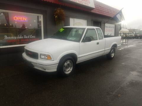 1996 GMC Sonoma for sale at Bonney Lake Used Cars in Puyallup WA