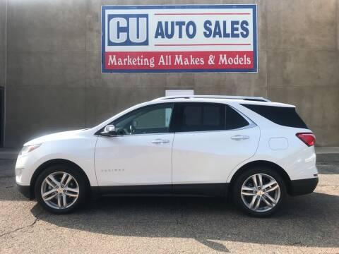 2019 Chevrolet Equinox for sale at C U Auto Sales in Albuquerque NM