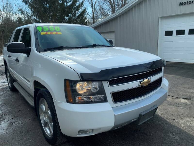 2010 Chevrolet Avalanche for sale at SMS Motorsports LLC in Cortland NY