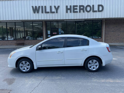 2010 Nissan Sentra for sale at Willy Herold Automotive in Columbus GA
