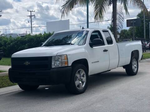2011 Chevrolet Silverado 1500 for sale at L G AUTO SALES in Boynton Beach FL